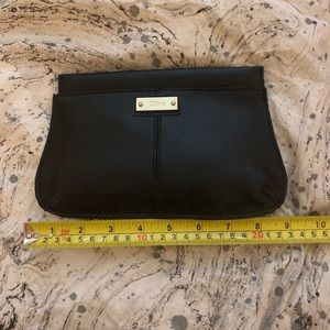 Chloe small cosmetic bag pouch black